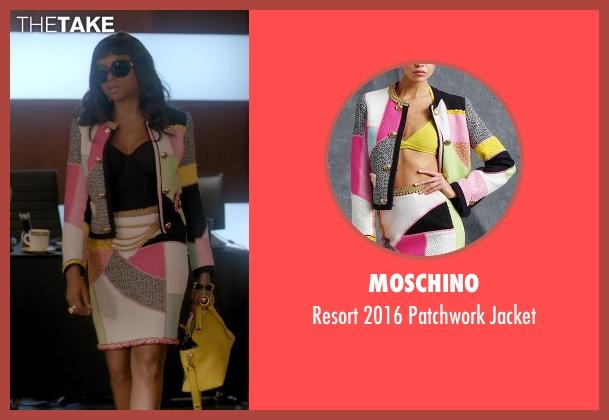 Moschino jacket from Empire seen with Cookie Lyon (Taraji P. Henson)