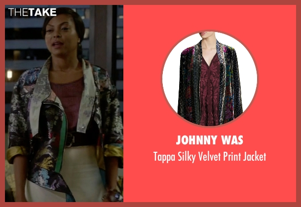 Johnny Was jacket from Empire seen with Cookie Lyon (Taraji P. Henson)