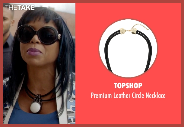 Topshop necklace from Empire seen with Cookie Lyon (Taraji P. Henson)