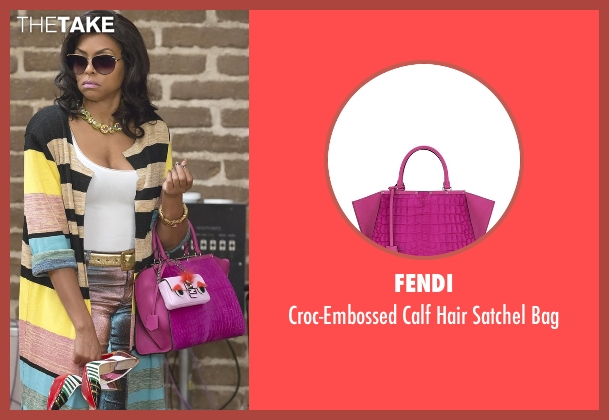 Fendi pink bag from Empire seen with Cookie Lyon (Taraji P. Henson)