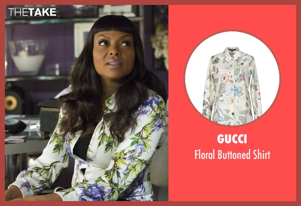 Gucci shirt from Empire seen with Cookie Lyon (Taraji P. Henson)