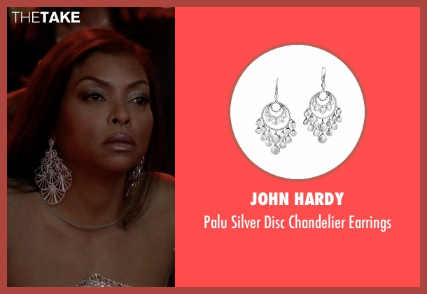 John Hardy silver earrings from Empire seen with Cookie Lyon (Taraji P. Henson)