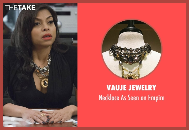 Vauje Jewelry silver empire from Empire seen with Cookie Lyon (Taraji P. Henson)