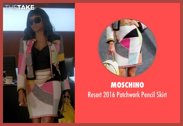 Moschino skirt from Empire seen with Cookie Lyon (Taraji P. Henson)