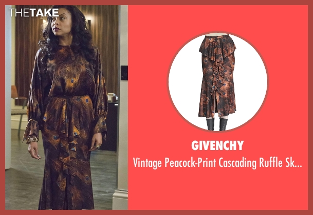 Givenchy skirt from Empire seen with Cookie Lyon (Taraji P. Henson)