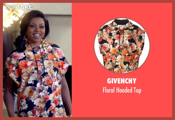 Givenchy top from Empire seen with Cookie Lyon (Taraji P. Henson)
