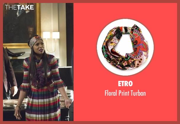 Etro turban from Empire seen with Cookie Lyon (Taraji P. Henson)