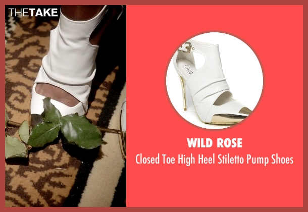 Wild Rose white shoes from Empire seen with Cookie Lyon (Taraji P. Henson)