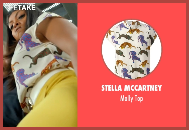 Stella McCartney white top from Empire seen with Cookie Lyon (Taraji P. Henson)