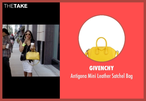 Givenchy yellow bag from Empire seen with Cookie Lyon (Taraji P. Henson)
