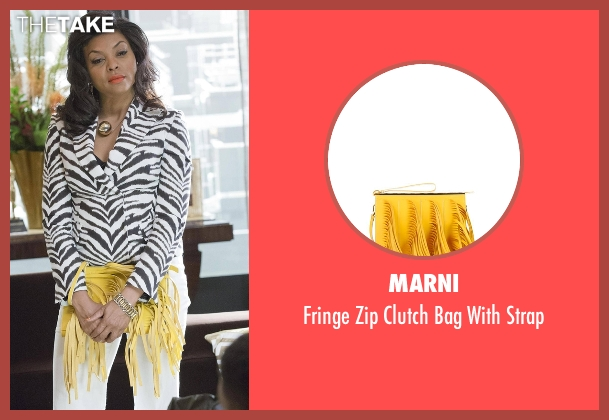 Marni yellow strap from Empire seen with Cookie Lyon (Taraji P. Henson)