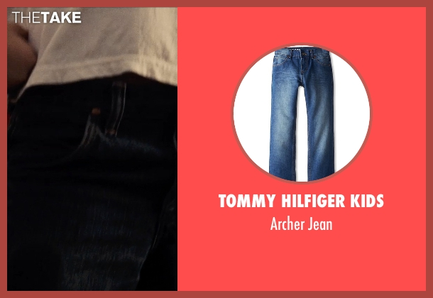 Tommy Hilfiger Kids blue jean from Man of Steel seen with Cooper Timberline (Clark Kent (9 Years))