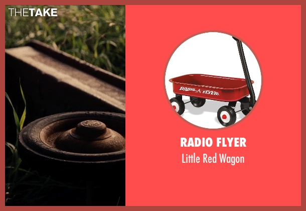 Radio Flyer wagon from Man of Steel seen with Cooper Timberline (Clark Kent (9 Years))