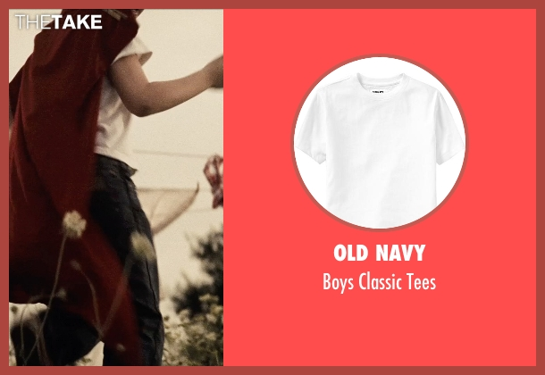 Old Navy white tees from Man of Steel seen with Cooper Timberline (Clark Kent (9 Years))