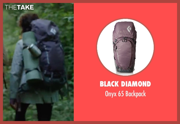 Black Diamond  purple backpack from Blair Witch seen with Corbin Reid (Ashley)