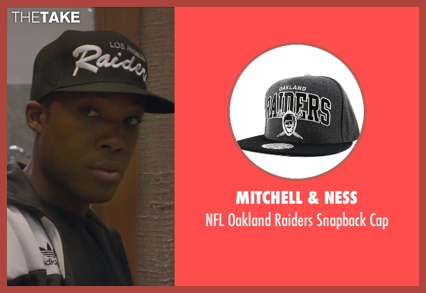 Mitchell & Ness black cap from Straight Outta Compton seen with Corey Hawkins (Dr. Dre)