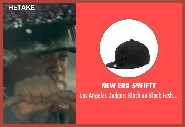 New Era 59Fifty black cap from Straight Outta Compton seen with Corey Hawkins (Dr. Dre)