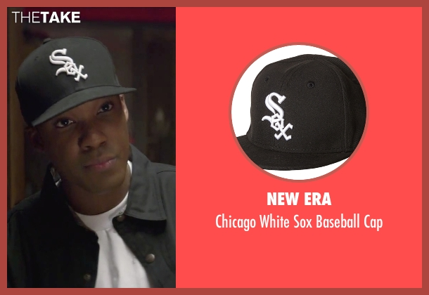 New Era black cap from Straight Outta Compton seen with Corey Hawkins (Dr. Dre)