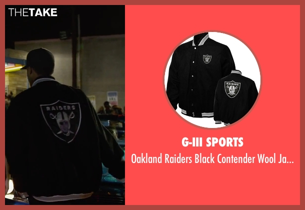 G-III Sports black jacket from Straight Outta Compton seen with Corey Hawkins (Dr. Dre)