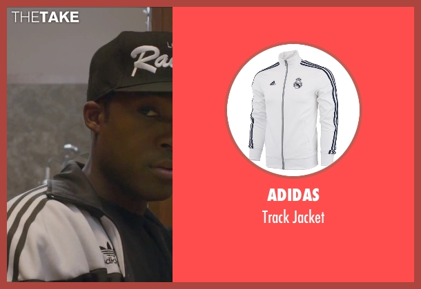 Adidas black jacket from Straight Outta Compton seen with Corey Hawkins (Dr. Dre)