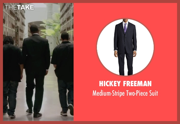 Hickey Freeman black suit from Straight Outta Compton seen with Corey Hawkins (Dr. Dre)