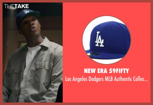 New Era 59Fifty blue cap from Straight Outta Compton seen with Corey Hawkins (Dr. Dre)