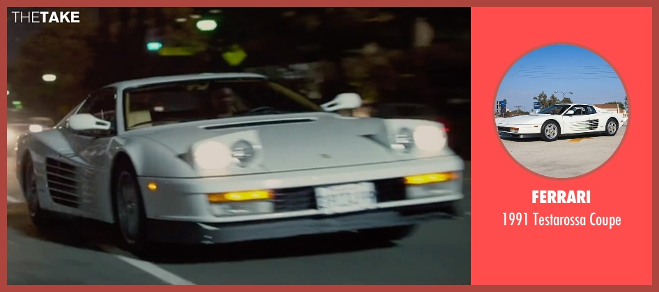 Ferrari coupe from Straight Outta Compton seen with Corey Hawkins (Dr. Dre)