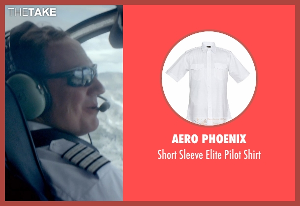 Aero Phoenix white shirt from Ex Machina seen with Corey Johnson (Jay)