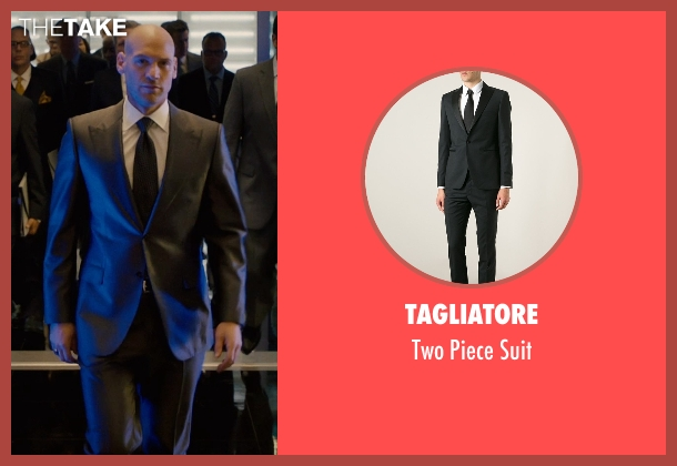 Tagliatore black suit from Ant-Man seen with Corey Stoll (Darren Cross / Yellowjacket)
