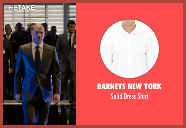 Barneys New York white shirt from Ant-Man seen with Corey Stoll (Darren Cross / Yellowjacket)