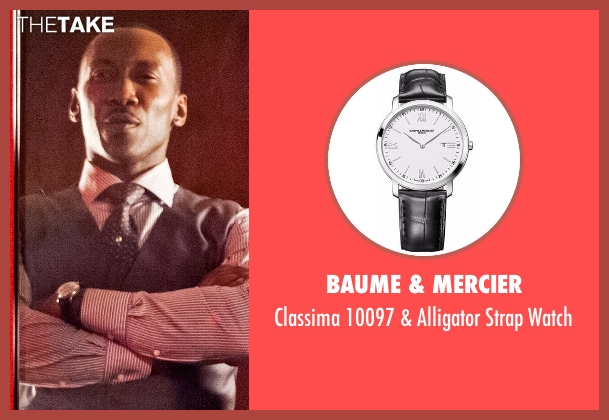Baume & Mercier black watch from Marvel's Luke Cage seen with Cottonmouth (Mahershala Ali)