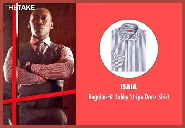 ISAIA gray shirt from Marvel's Luke Cage seen with Cottonmouth (Mahershala Ali)