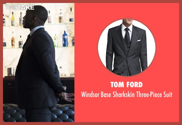 Tom Ford gray suit from Marvel's Luke Cage seen with Cottonmouth (Mahershala Ali)