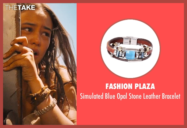 Fashion Plaza brown bracelet from Mad Max: Fury Road seen with Courtney Eaton (Fragile)
