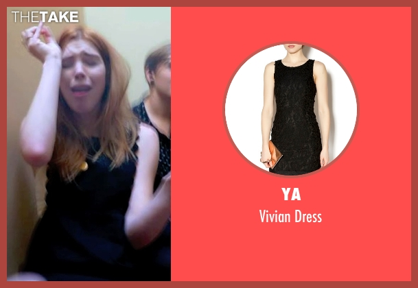 Ya black dress from Unfriended seen with Courtney Halverson (Val)