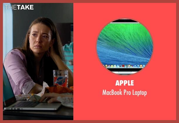 Apple laptop from Dolphin Tale 2 seen with Cozi Zuehlsdorff (Hazel Haskett)