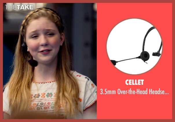 Cellet microphone from Dolphin Tale 2 seen with Cozi Zuehlsdorff (Hazel Haskett)