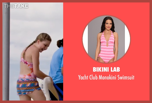 Bikini Lab pink swimsuit from Dolphin Tale 2 seen with Cozi Zuehlsdorff (Hazel Haskett)