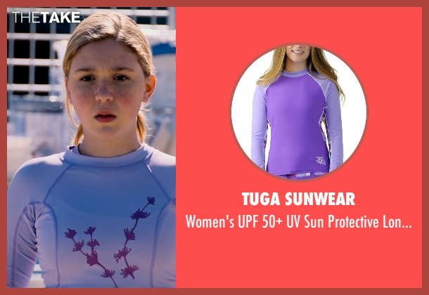 Tuga Sunwear purple top from Dolphin Tale 2 seen with Cozi Zuehlsdorff (Hazel Haskett)