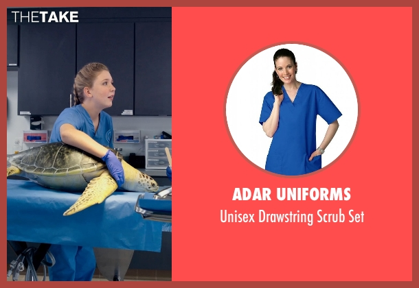 Adar Uniforms set from Dolphin Tale 2 seen with Cozi Zuehlsdorff (Hazel Haskett)