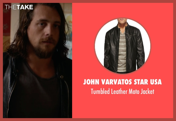 John Varvatos Star USA black jacket from Animal Kingdom seen with Craig Cody (Ben Robson)