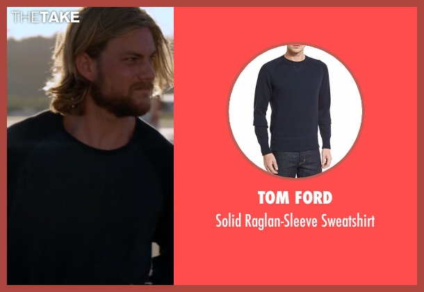 Tom Ford black sweatshirt from Animal Kingdom seen with Craig Cody (Jake Weary)