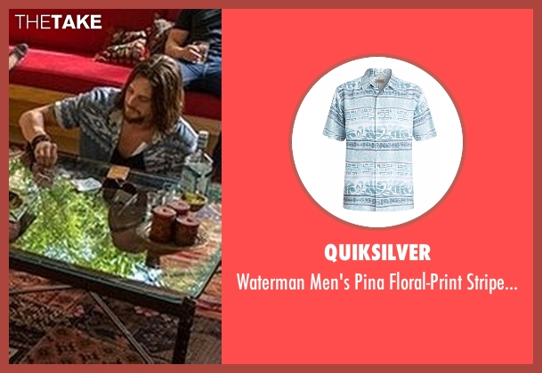 Quiksilver  blue shirt from Animal Kingdom seen with Craig Cody (Ben Robson)