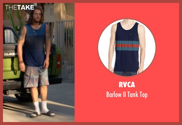 RVCA blue top from Animal Kingdom seen with Craig Cody (Ben Robson)