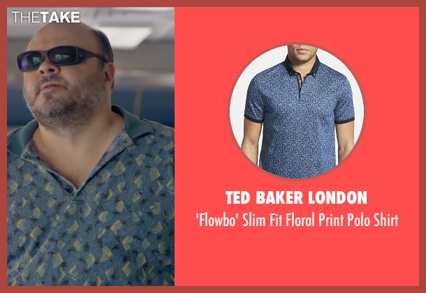 Ted Baker London blue shirt from Ted 2 seen with Craig Ricci Shaynak (Fat Blind Guy)