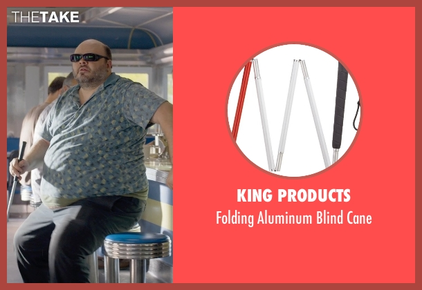King Products cane from Ted 2 seen with Craig Ricci Shaynak (Fat Blind Guy)