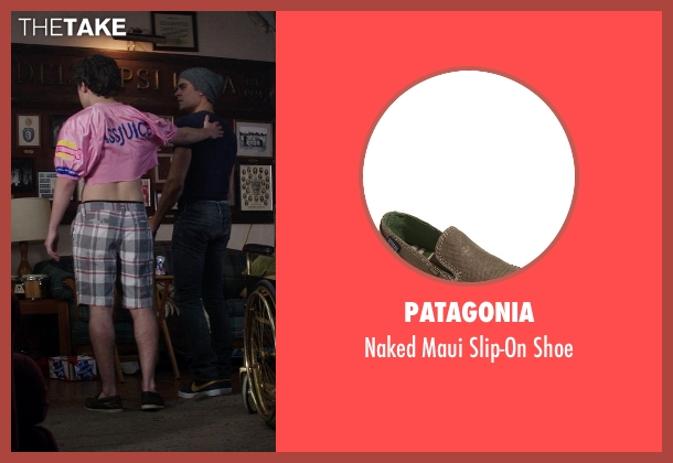 Patagonia brown shoe from Neighbors seen with Craig Roberts (Assjuice)