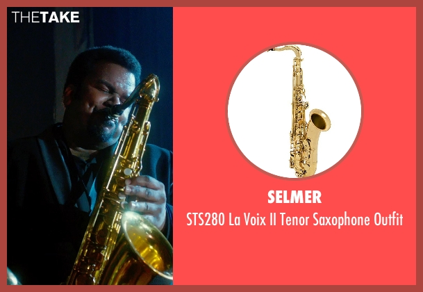 Selmer outfit from Get On Up seen with Craig Robinson (Maceo Parker)