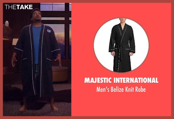Majestic International black robe from Hot Tub Time Machine 2 seen with Craig Robinson (Nick)