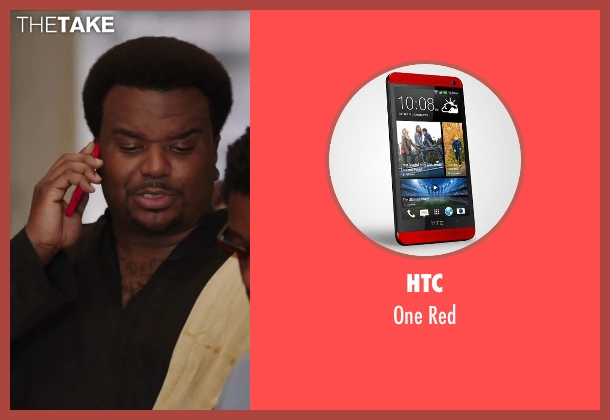 HTC red from Hot Tub Time Machine 2 seen with Craig Robinson (Nick)